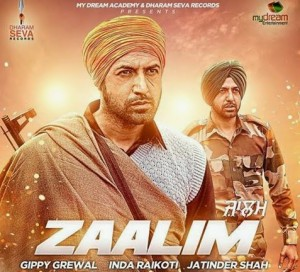 Zaalim song lyrics gippy grewal